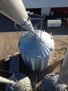 Grain Bin Construction by Mid-Western MillWright
